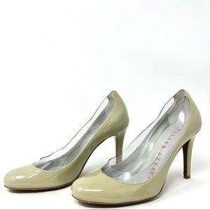 Walter Steiger Oyster Patent Leather Pumps Size 36.5